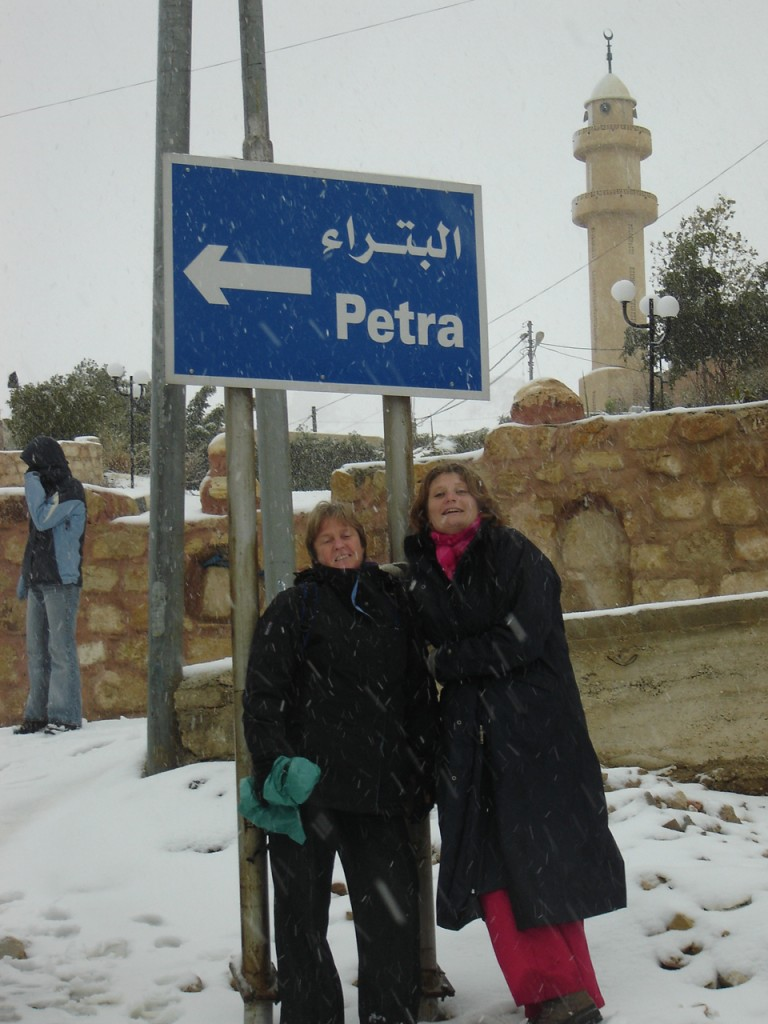 Christmas in Petra, Jordan