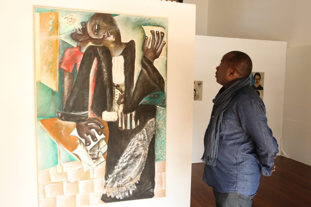 Visitor Urban Africans Exhibition